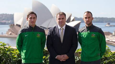 Ange Postecoglou said he had some specific criteria - form, fitness and an eye for the future - and thinks this squad reflects that. (Reuters)