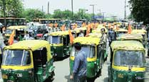 Autorickshaws in Delhi to go off roads tomorrow