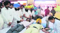 Blood donation camp organised on 23rd ThalassemiaDay