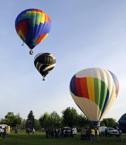 Bright and high! 40th Annual Balloon Stampede begins in Walla Walla