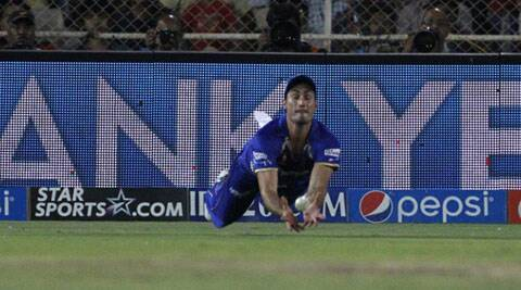 The Australian pacer made his IPL debut for Rajasthan Royals against Delhi Daredevils on Thursday. (IPL/BCCI)