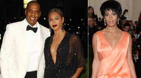 A video leaked which shows Beyonce's sister Solange attacking Jay Z in a hotel elevator.