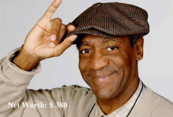 American comedian Bill Cosby is at the eighth position with assets worth $380. (Source: AP)