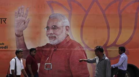Narendra Modi's political opponents have tried to downplay his rising appeal across the country. ( Source: AP )