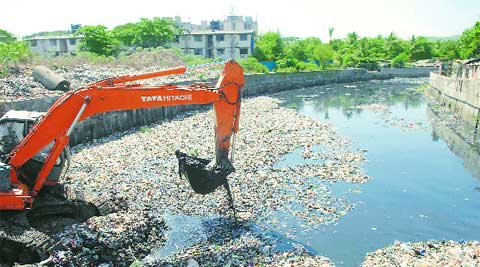 Slow pace of pre-monsoon desilting work on storm water drains is a major concern.