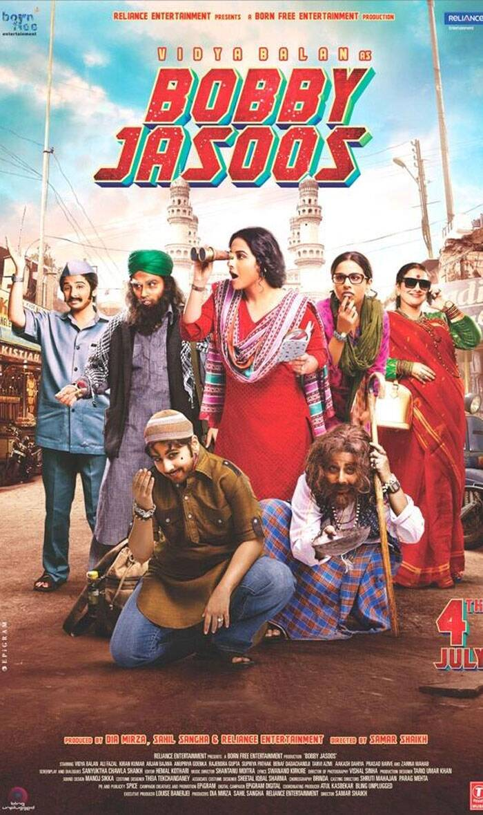 First look: Vidya Balan's many avatars in 'Bobby Jasoos'