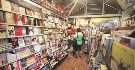 The Book Shop at Jor Bagh. Pic: Amit Mehra