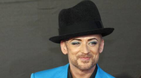 Boy George: Music has given me everything I have in my life that's good. (Source: Reuters)