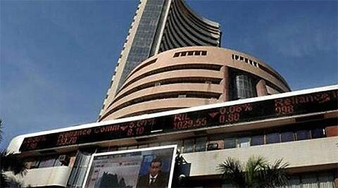 BSE Sensex closed 0.06 percent lower to 22,403.89. (PTI)