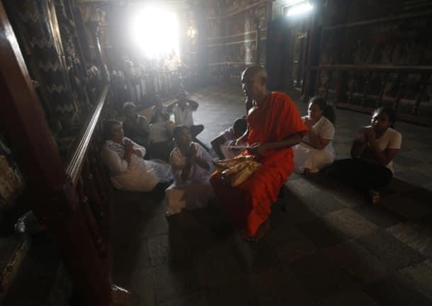 Devotees celebrate Buddha Jayanti