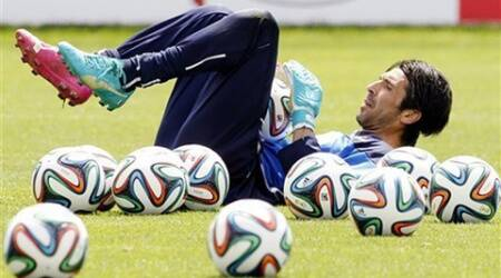 Italy witnessed how destructive Brazilian conditions can be when eight of his players asked to be substituted at halftime of the Confederations Cup semifinal last June in the northern coastal city of Fortaleza, which is hosting six World Cup matches. (Source: AP)