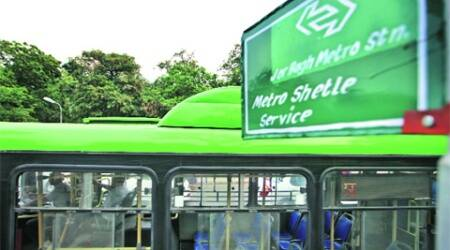 The shuttle service was launched on April 15. (Oinam Anand)