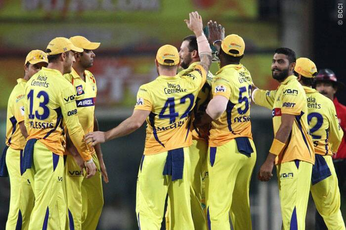 Chennai, defending 148, struck early and reduced Kolkata to 4 for 38 in the sixth over. (Photo: BCCI/IPL)