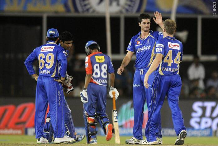 Rajasthan Royals out-performed Delhi Daredevils in every department of the game to notch-up a clinical 62-run win in Ahmedabad on Thursday. (Photo: BCCI/IPL)