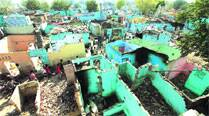 5 illegal colonies razed, 38 acres land freed