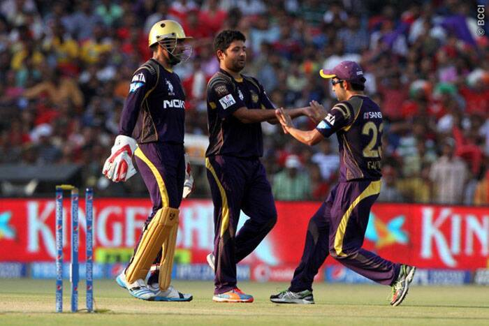 Piyush Chawla was the pick of the bowlers for Kolkata as he finished with figures of three for 19 from his four overs. These was identical to his figures of the previous match between these to two teams in UAE. (Photo: BCCI/IPL)