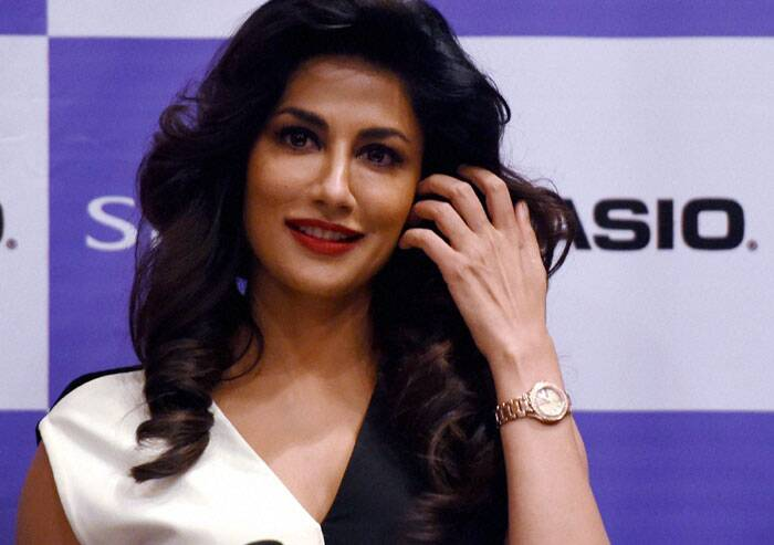 Chitrangada Singh, who recently got divorced from her husband Jyoti Randhawa, launched a designer brand of watches in the city. (PTI)