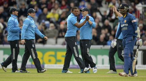 Chris Jordan picked up a five wicket haul to trigger Sri Lanka's collapse. (Source: Reuters)