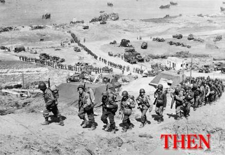 D-Day landings in Normandy: 70 years apart – Revisiting the Great War