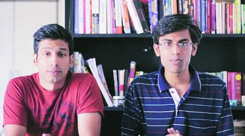 Kanan Gill (left) and Biswa Kalyan Rath in a video grab of their latest review of Main Prem Ki Deewani Hoon.