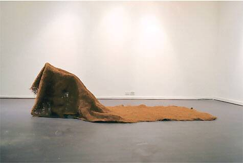 Confession, an installation made from coir