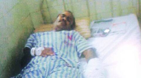 Constable Padmakar Shelar in hospital. He is out of danger.