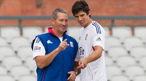 Cook also said being the bearer of bad news had not damaged his relationship with Gooch. (AP)