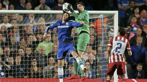Thibaut Courtois was in sensational form against his parent-club Chelsea on Wednesday. (Reuters)