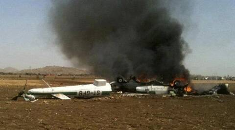 It was not immediately clear if the crash was an accident or the result of hostile action. (Source: Reuters/ file photo)