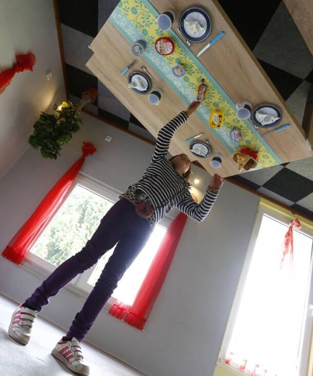 Turn the world upside-down literally in Germany's 'Crazy House'
