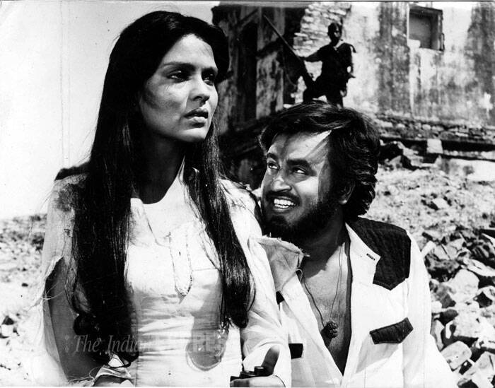 <b>Daku Hasina</b>: This 1987 release featured Rajinikanth, Jackie Shroff, Zeenat Aman and Rakesh Roshan. (Source: Express archive photo)