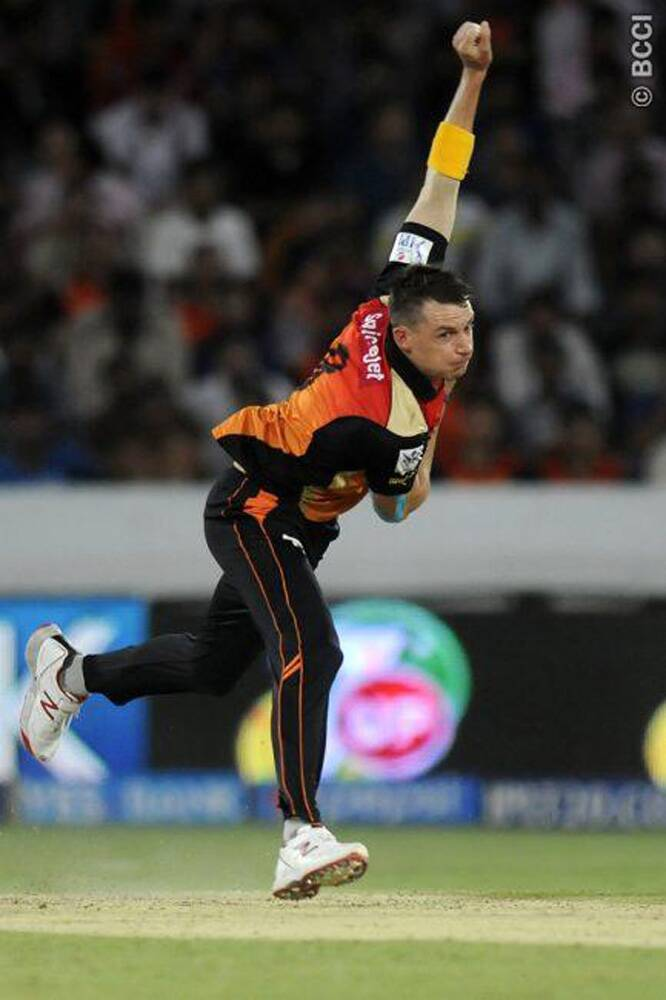 Defending a mammoth 205/5, the Sunrisers Hyderabad bowlers failed to put the breaks on Kings XI Punjab's big-hitters. (Photo: IPL/BCCI)