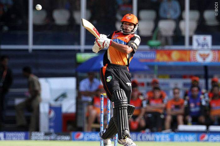 Sunrisers Hyderabad skipper Shikhar Dhawan went all guns blazing against Kings XI Punjab, but failed to capitalize on his start to post his maiden fifty of the ongoing Pepsi IPL tournament. He was dismissed for 45 by Kings XI Punjab's Rishi Dhawan. (Photo: IPL/BCCI)