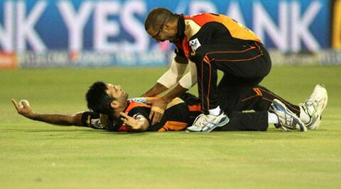 SRH were clinical in the bowl and fielders backed their bowlers with some sharp work in the deep (Photo: BCCI/IPL)