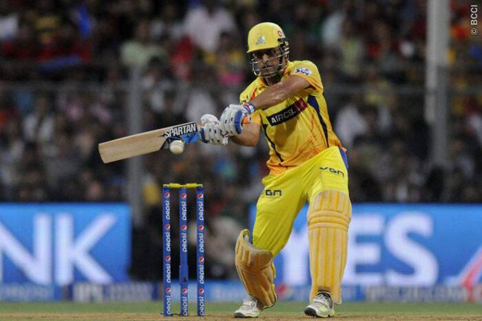 Chennai captain Mahendra Singh Dhoni gave his best shot at reaching closer to the chase, but with wickets falling at the other end, he couldn't guide his side to victory. He remained not-out at 42 from 31 balls, but his fighting knock went in vain as Kings XI Punjab won the match by 24 runs and reached the IPL finals for the first time in history. (Source: IPL/BCCI)
