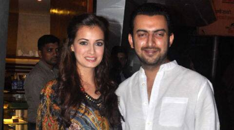 It's an Oct 18 wedding for actress-producer Dia Mirza and her softspoken fiance Sahil Sangha.