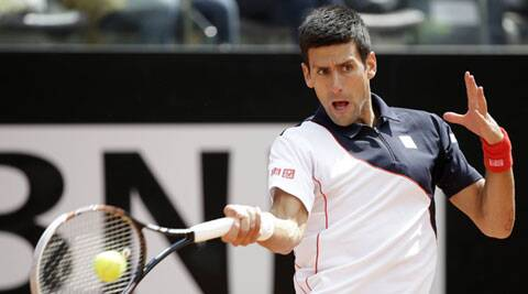 Djokovic dropped serve three times but was still too strong for his Czech opponent (Reuters)