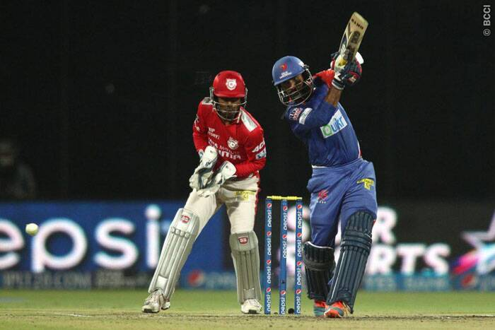 Dinesh Karthik also played a superb knock of 69 off 44 to steady things in the middle for his team with skipper Kevin Pietersen. (Photo: BCCI/IPL)