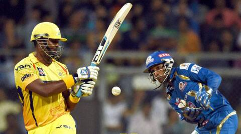 Smith top scored for CSK with 44. He is now the second highest run-getter in IPL 7 with 440 runs. (PTI)