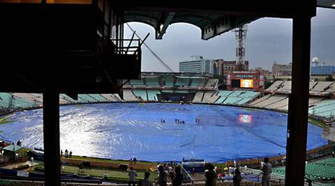 Both the teams did not turn up at the venue and only match officials came to make the announcement (Source: Express Photo by Partha Paul)