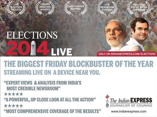 VERDICT 2014: Live from the Indian Express Newsroom