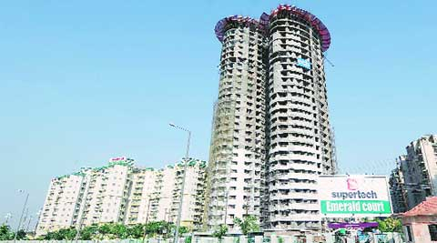 The Supreme Court said that Supertech must refund money of flat owners of Apex and Ceyane towers.