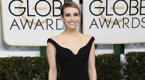 Emma Roberts: I'm very easily scared. ( Source: Reuters )