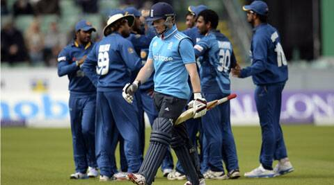 Helped by Eoin Morgan's 40, England avoided its lowest ODI total of 86, against Australia in 2001. (Source: Reuters)