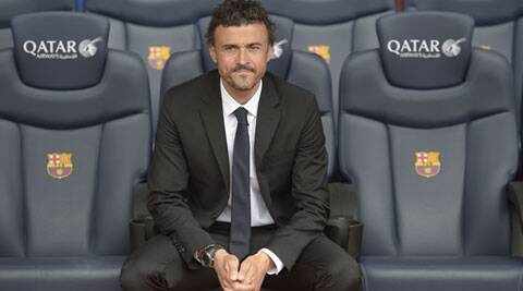 Enrique is the club's eighth former captain to coach the club, joining such greats as Laszlo Kubala, Cesar Rodriguez, Cruyff and Guardiola. (AP)