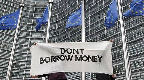 With three consecutive quarters of positive growth, the European economy is pulling out of the slump. (Reuters)