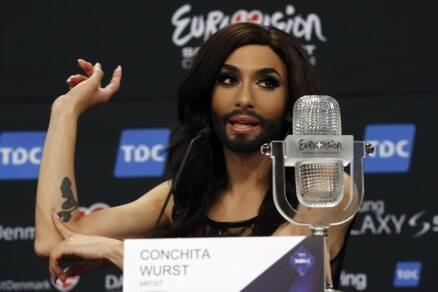 Austria's 'Bearded lady' wins Eurovision Song Contest