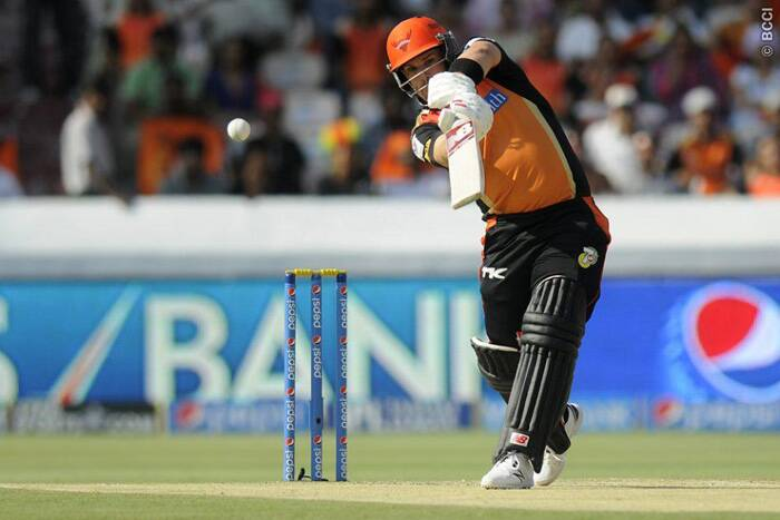 Sunrisers Hyderabad locked horns with Kings XI Punjab at the Rajiv Gandhi International Stadium in Hyderabad on Wednesday. After being put into bat by George Bailey, the home team, Sunrisers Hyderabad, got off to a good start before opener Aaron Finch was dismissed by Shivam Sharma for 20 (Photo: IPL/BCCI)