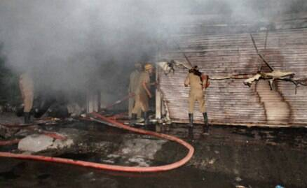 Fire breaks out in Jammu hotel
