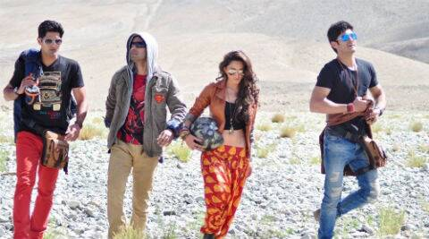"""Director Kabir Sadanand had to go alone for the special screening of his film """"Fugly"""" for army 'jawans' (soldiers) in Leh."""